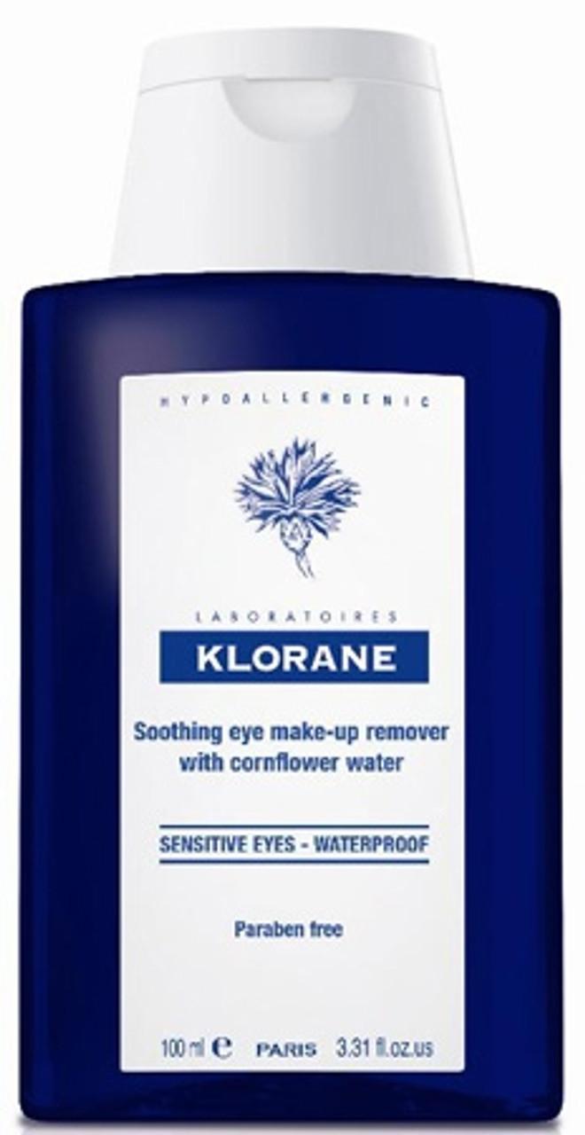 Klorane Soothing Eye Make-Up Remover - Waterproof - 3.4 OZ