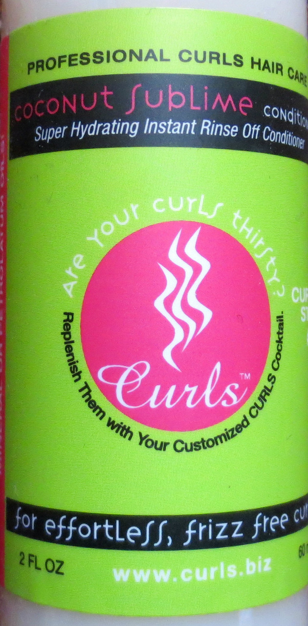 Curls Coconut Sublime Conditioner 2 oz