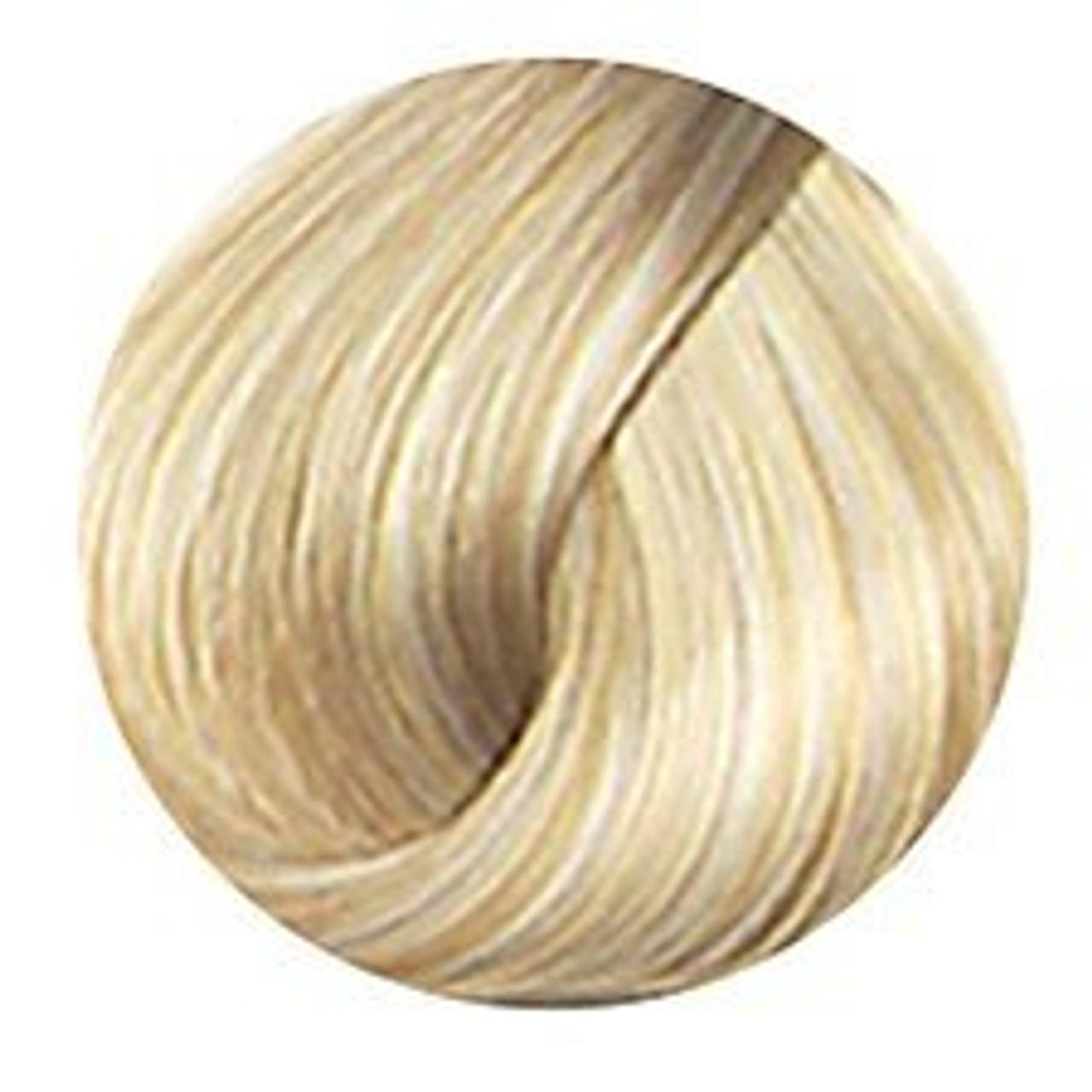 Neutral blonde hair color