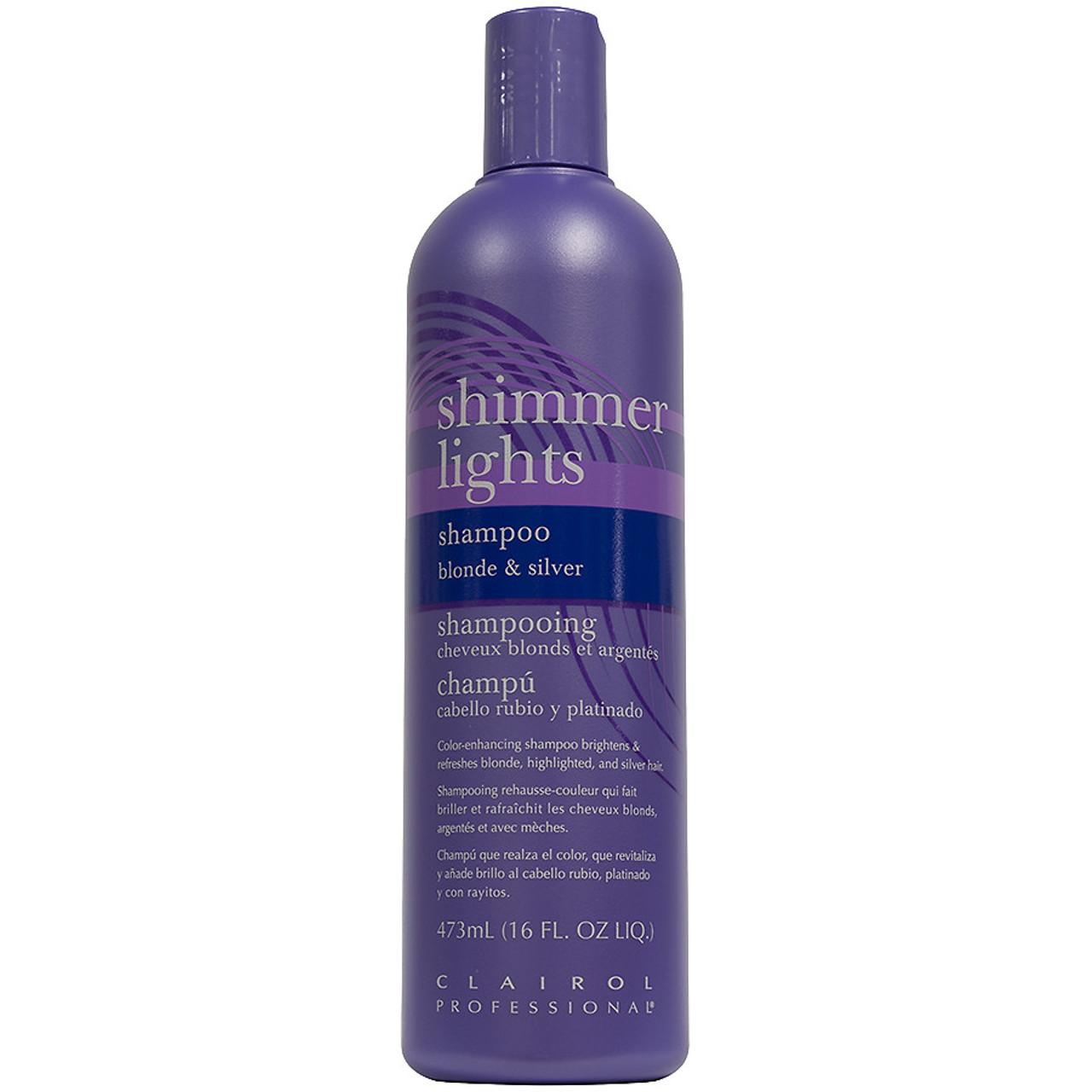 Clairol Shimmer Lights Shampoo 16 oz