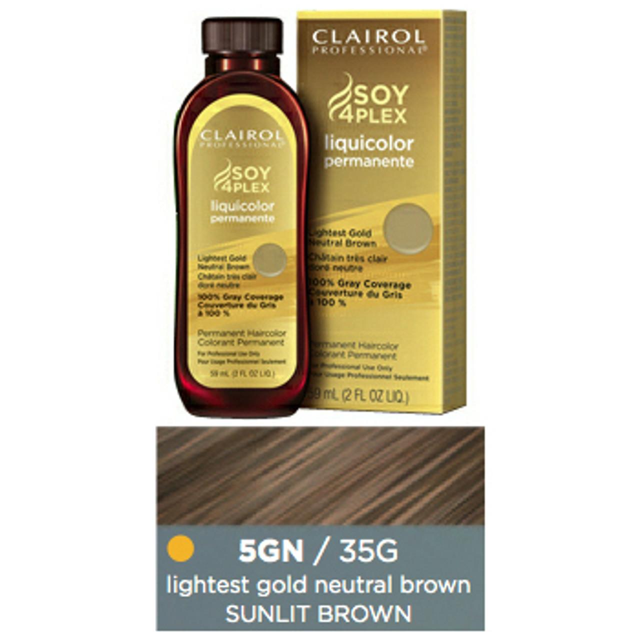 Clairol Hair Color 35G Sunlit Brown 2 oz