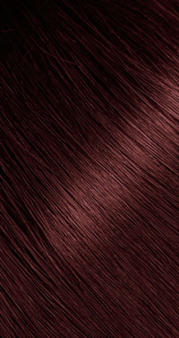 Dark auburn hair color