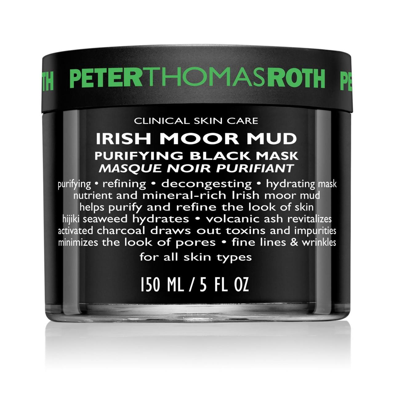 Peter Thomas Roth Irish Moor Mud Purifying Black Mask 5 oz
