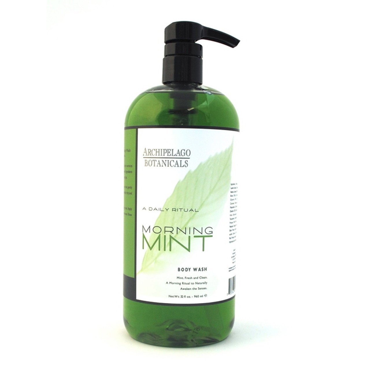 Archipelago Morning Mint Body Wash - 33 oz