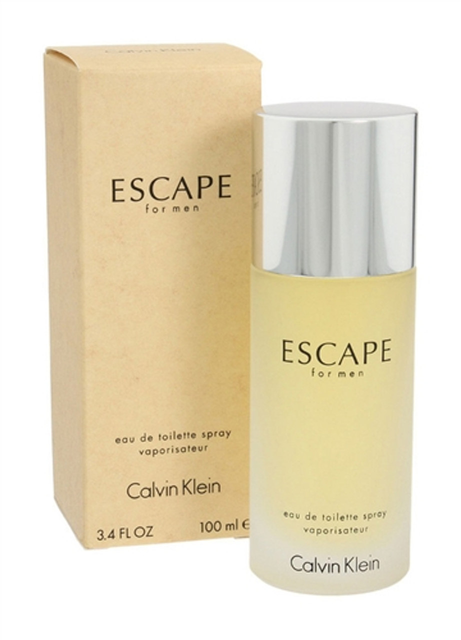 Calvin Klein Escape 3.4 oz Men's Eau de Toilette