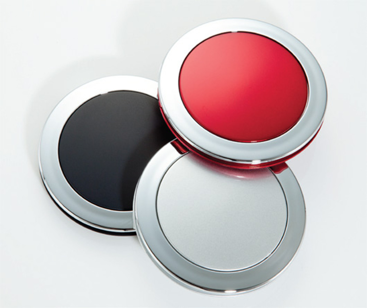 5X Compact Mirror Ruby