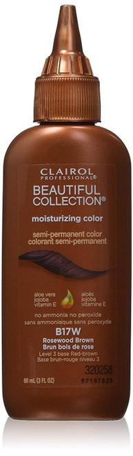 Clairol Beautiful B17W Rosewood Brown Hair Color: bottle