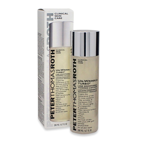 Peter Thomas Roth Un-Wrinkle Turbo Line Smoothing Toning Lotion 6.7 oz