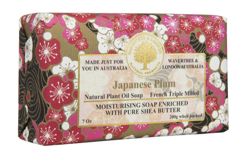 Wavertree & London Japanese Plum Soap Bar