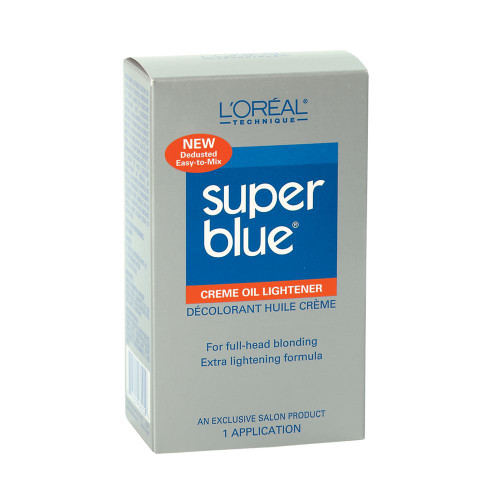 L'Oreal Super Blue Oil Bleach