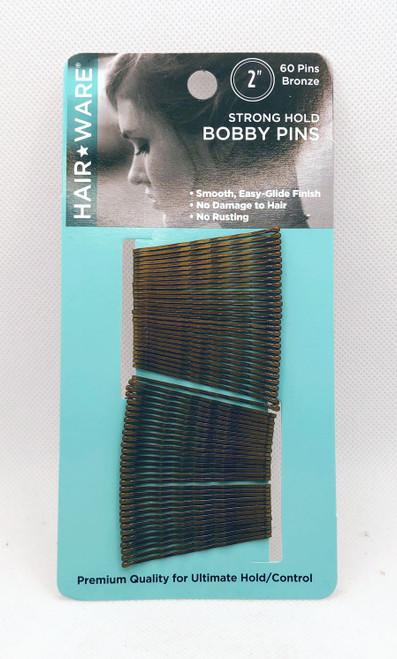 "Bobby Pins 2"" Bronze"