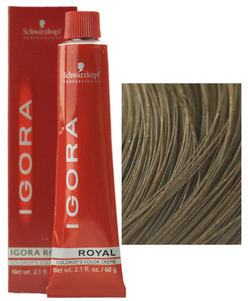 7-0 Medium blondee Schwarzkopf Igora Royal Permanent Color Creme -  2.1 oz