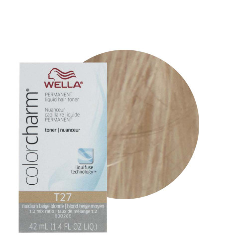 Wella T-27 Color Charm Toner Regal Beige