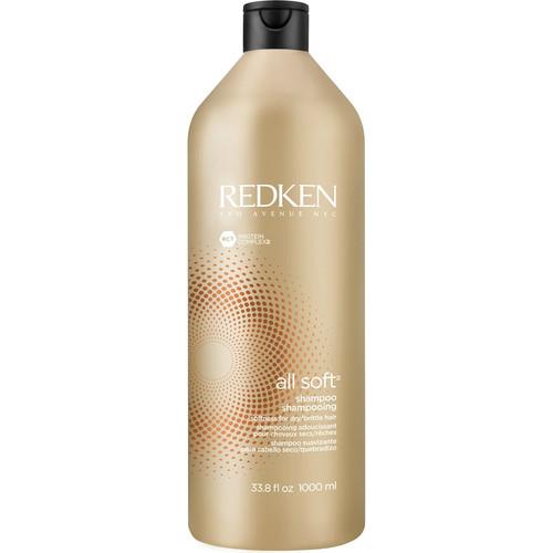 Redken All Soft Shampoo 33.8 Fl Oz