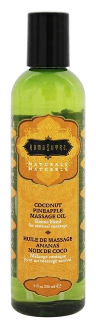 Kamasutra Coconut Pineapple Massage Oil 8 Oz