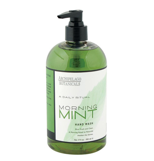 Archipelago Morning Mint Hand Wash 16 oz