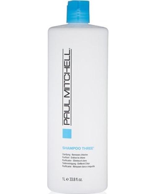 Paul Mitchell Shampoo Three 33.8 oz