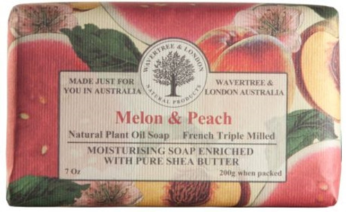 Wavertree & London Luxury Soap - Melon & Peach