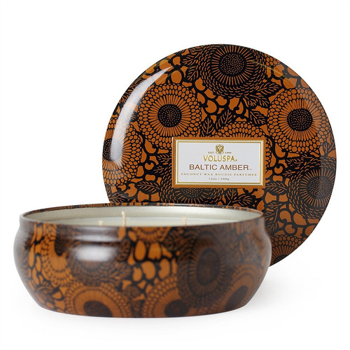 Voluspa Three Wick - Baltic Amber