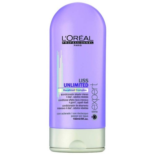 L'Oreal Liss Unlimited Keratin Oil Complex Conditioner 5 oz