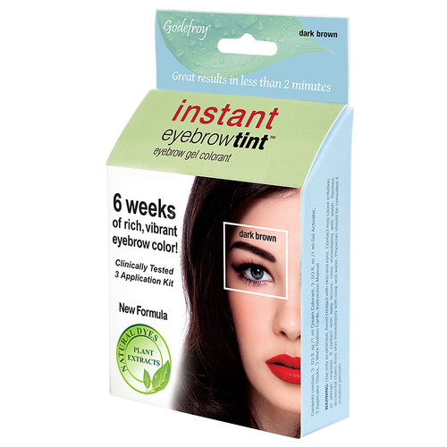 Godefroy Instant Eyebrow Tint Dark Brown