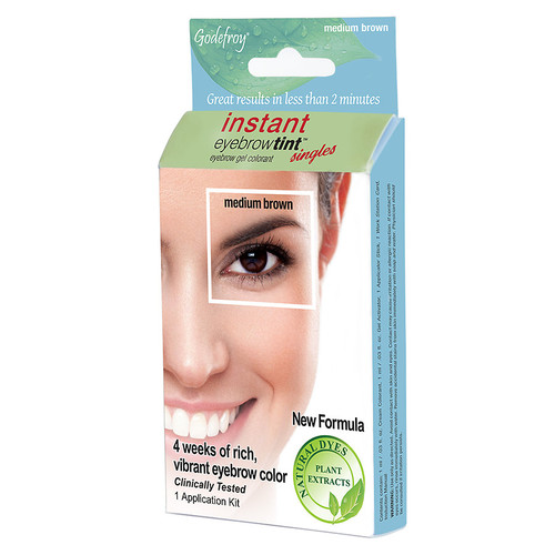 Godefroy Instant Eyebrow Tint Medium Brown