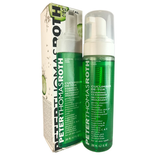 Peter Thomas Roth Cucumber Detox Foaming Cleanser 6.7 oz