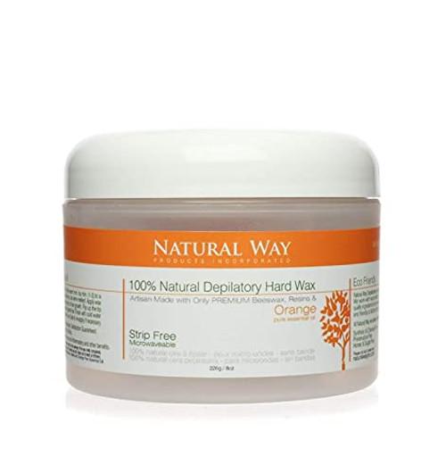 Wax N Waxing Orange Essential Oil Wax 8 Oz