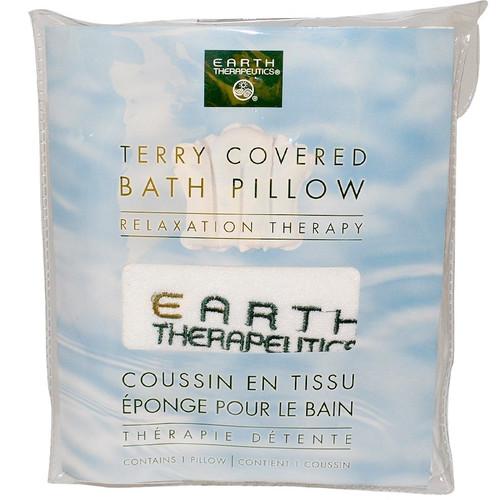Terry Coverd Bath Pillow