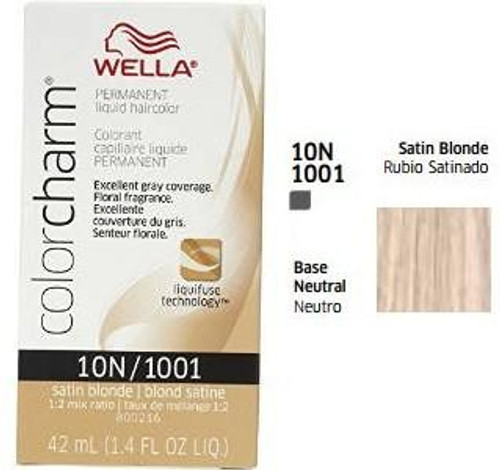 Wella 1036 Color Charm 1.4 oz - Satin Blonde