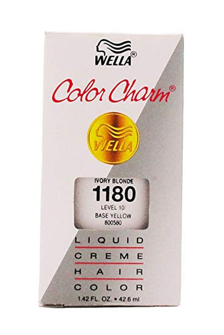 Wella 1180 Color Charm Ivory Blonde 1.4 oz