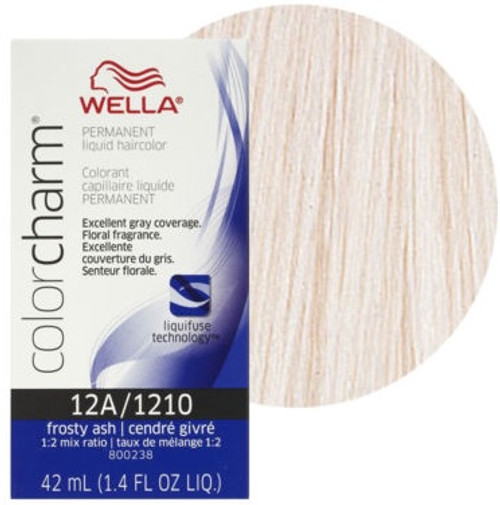 Wella 1210 Color Charm Frosty Ash 1.4 oz