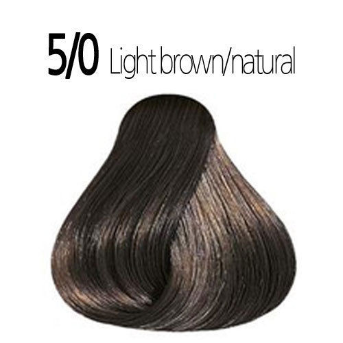 Wella 5/0 Semi-Permanent Hair Color: Light Natural Brown