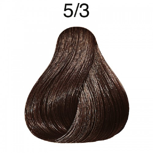 Wella 5/3 Semi-Permanent Hair Color: Light Golden Brown