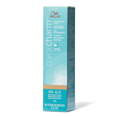 Wella 6/0 Semi-Permanent Hair Color 2 oz box - Dark Natural Blonde