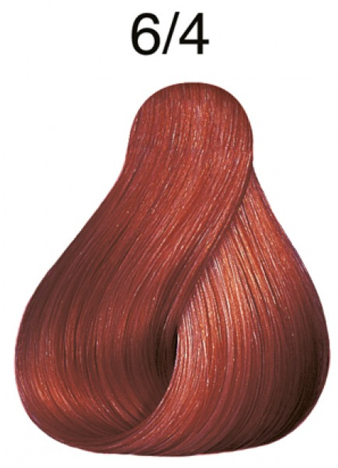 Wella 6/4 Semi-Permanent Hair Color: Mahogany Copper