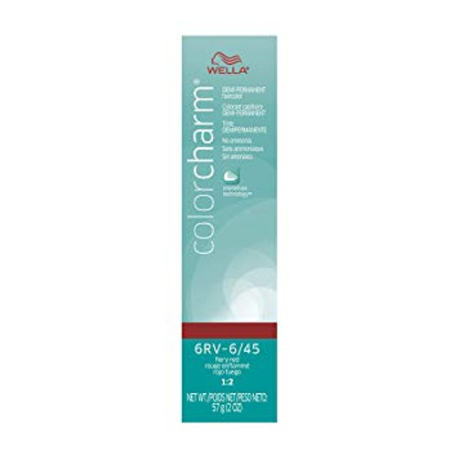 Wella 6/45 Semi-Permanent Hair Color 2 oz box - Fiery Red
