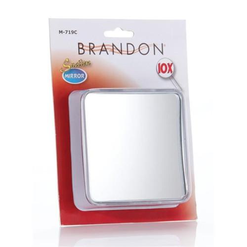 "10X Square Suction Mirror 4"""