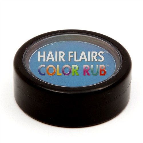 Hair Flair Color Rub - Electric Blue