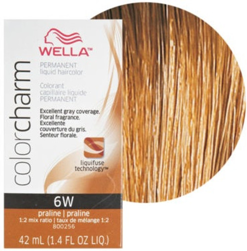 Wella 6W Color Charm 1.4 oz