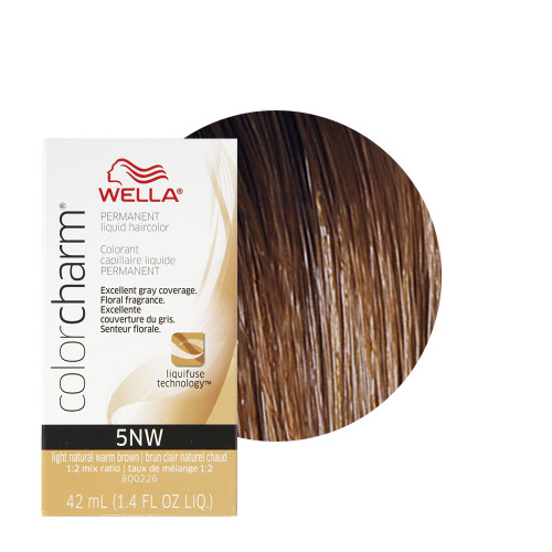Wella 5NW Color Charm 1.4 oz