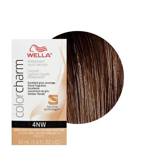 Wella 4NW Color Charm 1.4 oz