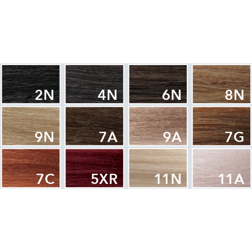 Aloxxi Hair Color Chart