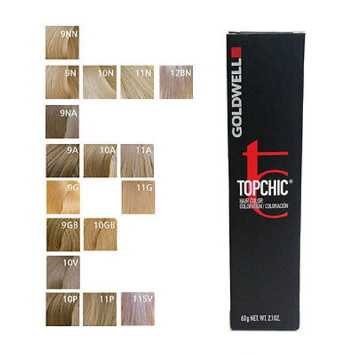 Goldwell Topchic Hair Color Chart