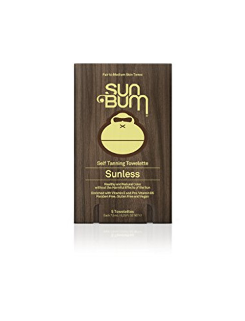 Sunless Tanning Toweletts 5 Pk