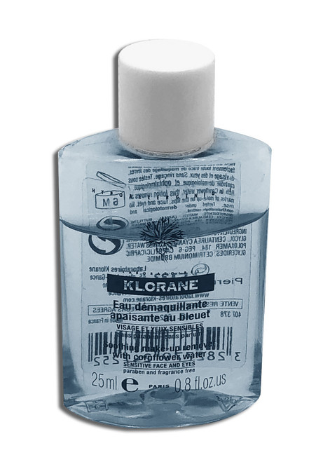Klorane Soothing Make-Up Remover with Cornflower Water 0.8 Oz