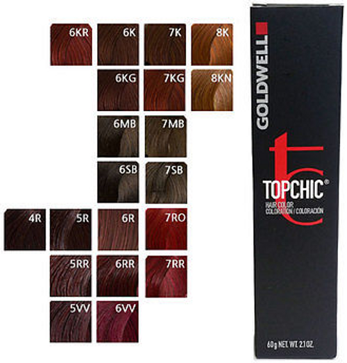 Topchic Color Chart