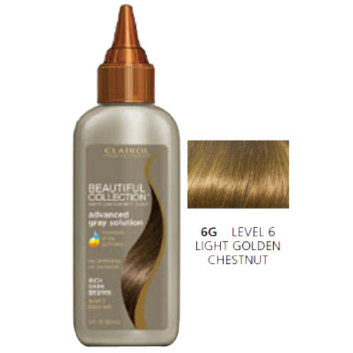 Clairol Beautiful Light Golden Chestnut 3 oz