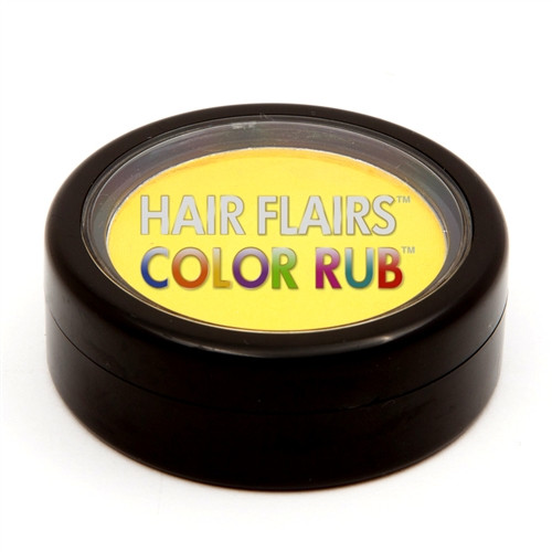 Hair Flair Color Rub - Yellow Spark