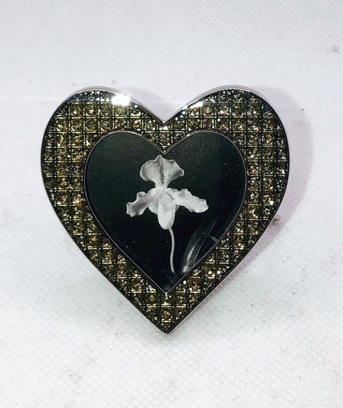 Silver Heart Photo Frame